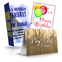 Fully-Customized Greeting Cards
