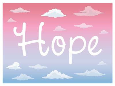 Lawn Sign - Hope