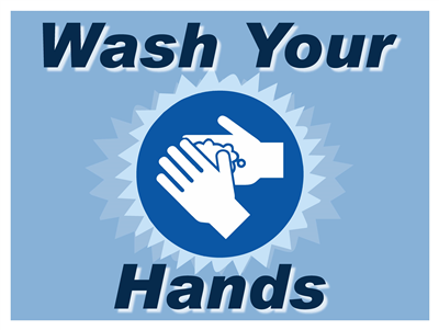 Lawn Sign - Wash Your Hands