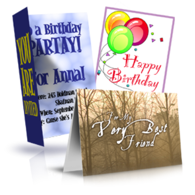 CUSTOM  Greeting Cards, Color Version
