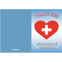 "Healthcare Heroes Cards, Color Version 5"" x 7"" (V2)"