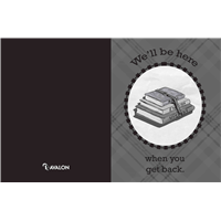 Teacher to Student Cards, BW FREE Version - Generic
